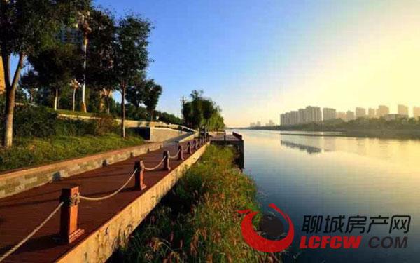 昌润莲城:国家级水利风景区 家门口的靓丽风光