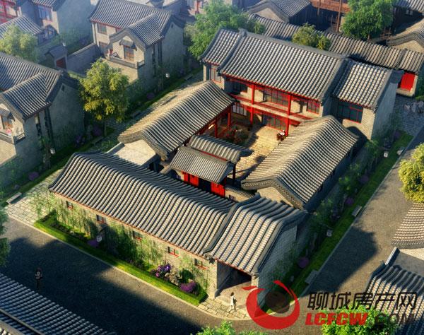 别墅欣赏 资讯详情页      北京的四合院儿,大门一关,天井里敞亮亮的