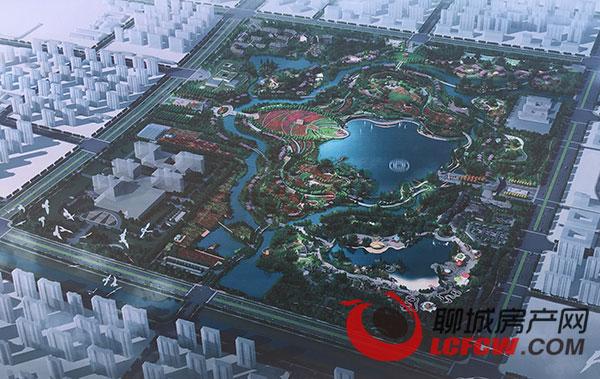 九州洼湿地公园规划图[pagenext]